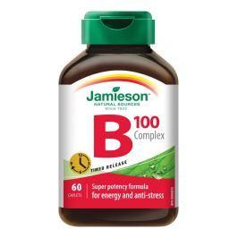JAMIESON B-komplex 100mg s postupným uvolňováním tbl.60