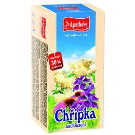 Apotheke Chřipka nachlazení čaj nálevové sáčky 20x1,5 g