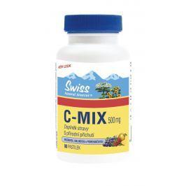 Swiss C-MIX přírodní 500 mg 90 cucacích tablet