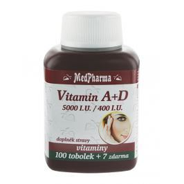 MedPharma Vitamín A+D (5000 I.U./400 I.U.) tob.107