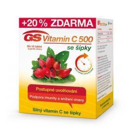 GS Vitamin C500 se šípky tbl.50+10