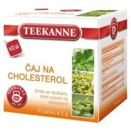 Teekanne Čaj na cholesterol nálevové sáčky 10x2 g