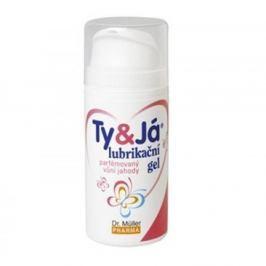 Lubrikační gel Ty & Já parfémovaný 100 ml jahoda