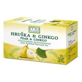 Fytopharma Ovocno-bylinný čaj hruška & ginkgo 20x2g