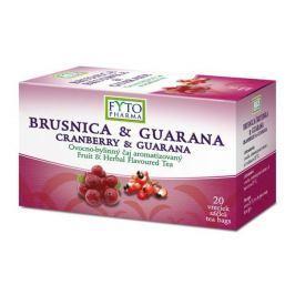 Fytopharma Ovocno-bylinný čaj brusinka & guarana 20x2g