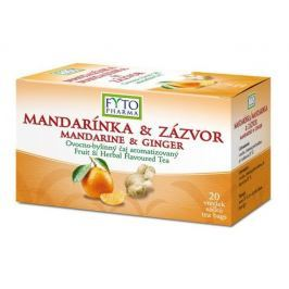 Fytopharma Ovocno-bylinný čaj mandarinka & zázvor 20x2g