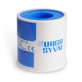 Urgo SYVAL 5 m x 5 cm fixační náplast textilní