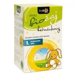 Babio BIO dětský čaj heřmánkový nálevové sáčky 20x1.5 g