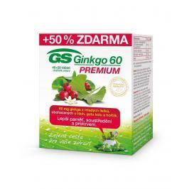 GS Ginkgo 60 Premium tbl.40+20