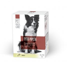 Pet health care Fytopipeta pes 10 - 20 kg 3x10 ml