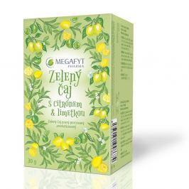 Megafyt Zelený čaj s citrónem a limetkou n.s.20x1.5g