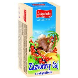 Apotheke Zázvorový čaj s rakytníkem nálevové sáčky 20x 2 g