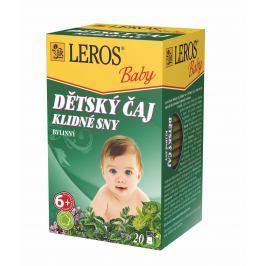 LEROS BABY Dětský čaj Klidné sny n.s. 20x1.5g