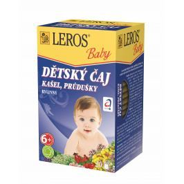 LEROS BABY Dětský čaj Kašel a průdušky n.s. 20x1.5g