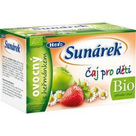 Sunárek čaj dětský ovocný s heřmánkem 20x1.5g