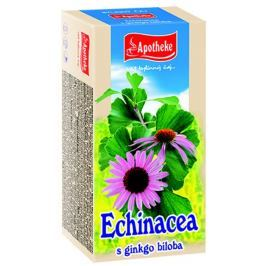 Apotheke Echinacea s ginkgo bilobou čaj nálevové sáčky 20x1,5 g