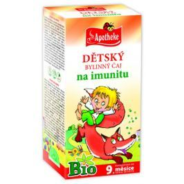 Apotheke BIO Dětský čaj na imunitu nálevové sáčky 20x1,5 g