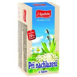 Apotheke Při nachlazení čaj nálevové sáčky 20x1,5 g