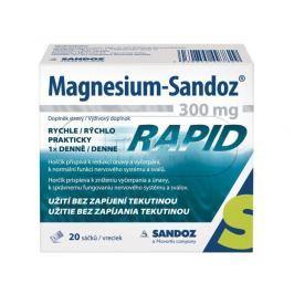 Magnesium Sandoz 300mg RAPID 20 sáčků