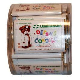 Lékárenská čokoláda dětská 20g 30+3 ks zdarma