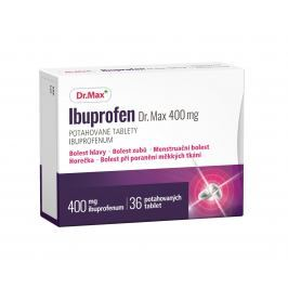 Dr.Max Ibuprofen 400mg 36 potahovaných tablet