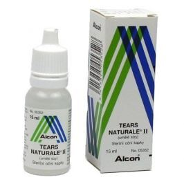 Tears naturale II oční kapky 15 ml