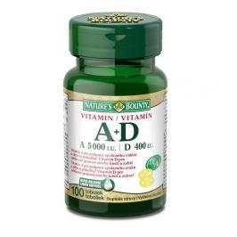 Nature's Bounty Vitamin A+D tob.100