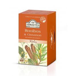 Ahmad Tea Rooibos & Cinnamon porcovaný čaj 20 x 1,5 g