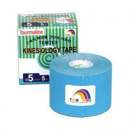 TEMTEX Kinesio tape Tourmaline 5 cm x 5 m tejpovací páska modrá