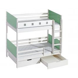 Dolmar Patrová postel s úložným prostorem HUBERT Dolmar 93/171/196