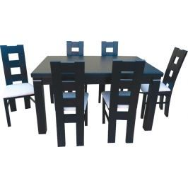 Swierczynski Rozkládací jídelní stůl MARS 140x80 + 40