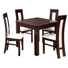 Swierczynski Rozkládací jídelní stůl MARS 100x100 + 2x50