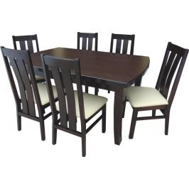 Swierczynski Swierczynski Rozkládací jídelní stůl WENUS 200x100 + 4x60