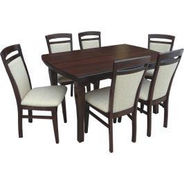 Swierczynski Swierczynski Rozkládací jídelní stůl NEPTUN 140x80 + 2x35
