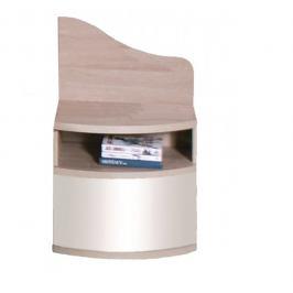 Fadome Noční stolek DOME L/P DL2-4 Fadome 50/58/28 Barva: dub-sonoma-bily-lesk