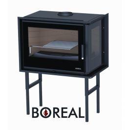 BOREAL Krbová vložka Boreal I70EDS rohová, pravé prosklení.
