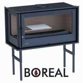 BOREAL Krbová vložka Boreal I90EI rohová, levé prosklení.