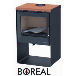 BOREAL Krbová kamna Boreal E2000S světlá hnědá