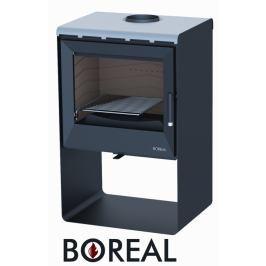 BOREAL Krbová kamna Boreal E2000S světlá šedá.