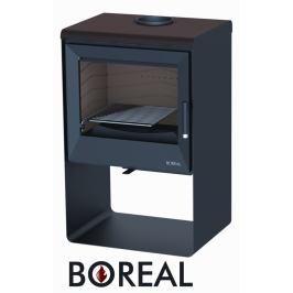 BOREAL Krbová kamna Boreal E2000S tmavá hnědá