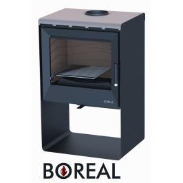 BOREAL Krbová kamna Boreal E2000S tmavá šedá