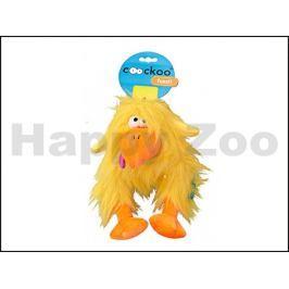 Hračka EBI plyš - Coockoo Fuzzl žlutý 22x14x25cm (DOPRODEJ)