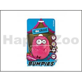 Hračka EBI guma - Coockoo Bumpies Extreme růžová 10,2x8,8x13cm (