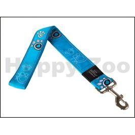 Vodítko ROGZ Fancy Dress HL 04 CH-Turquoise Paws (XXL) 4x50cm