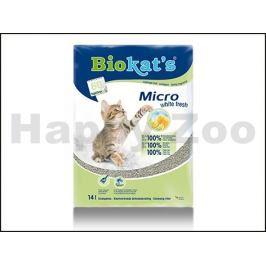 BIOKATS Micro White Fresh 14l