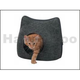 Iglu/pelech TRIXIE Kočka šedý 38x35x37cm
