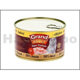 Konzerva GRAND Superpremium Cat hovězí 405g