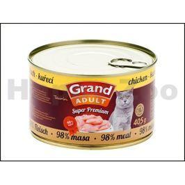Konzerva GRAND Superpremium Cat kuřecí 405g