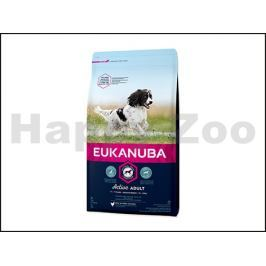 EUKANUBA Medium Breed Active Adult 3kg