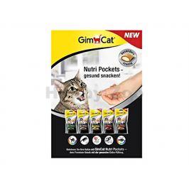 GIMCAT Nutri Pockets - losos a omega-3 a omega-6 60g